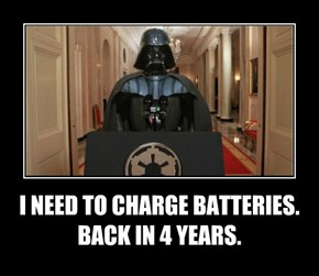 I NEED TO CHARGE BATTERIES. BACK IN 4 YEARS.