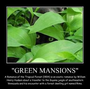 """GREEN MANSIONS"""
