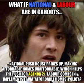 Are National & Labour in cahoots?
