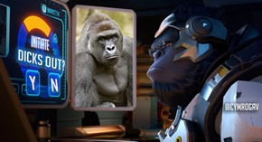 Winston Will Never Forget Harambe