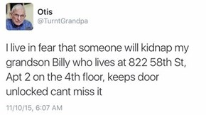Dammit, Grandpa