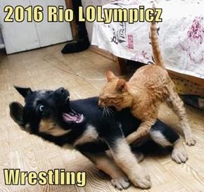 2016 Rio LOLympicz  Wrestling