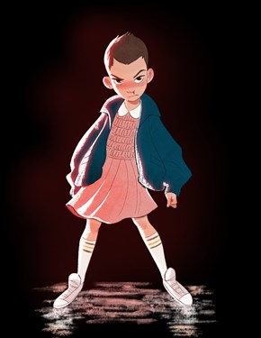 Eleven as Anime
