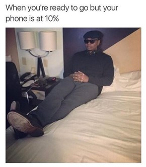 Resist the Urge to Check Your Phone While You Wait