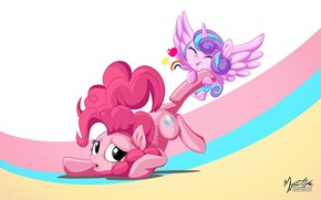 Baby Flurry Dragging a Ponk
