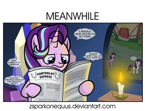 Meanwhile in Twilight's Castle