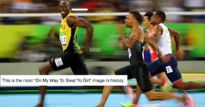 Usain Bolt's Ridiculously Photogenic Smile Has Officially Been Memed