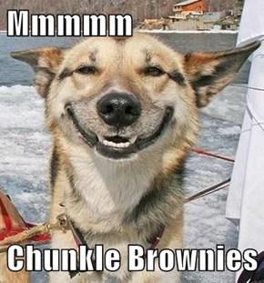 Mmmmm  Chunkle Brownies