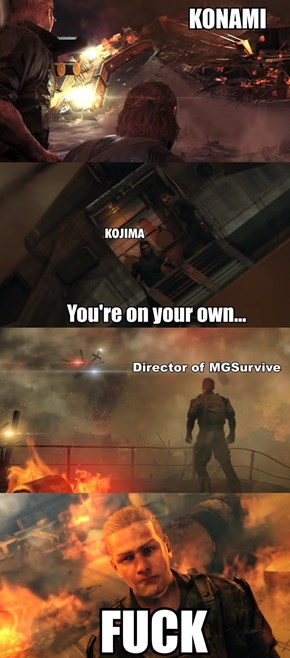 Some People Out There Are Thinking This After The Metal Gear Survive Trailer
