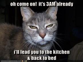 Seening eye mooch...er...cat!