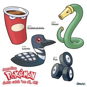 Canadian Pokémon