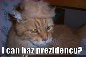I can haz prezidency?