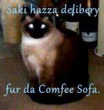 Saki hazza delibery   fur da Comfee Sofa.