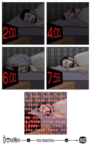 Painfully Accurate Depiction of That Insomnia Life, Man...