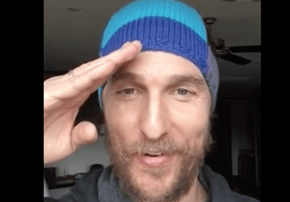 Matthew McConaughey Has a Ridiculously Under-The-Radar YouTube Channel, and It's Glorious