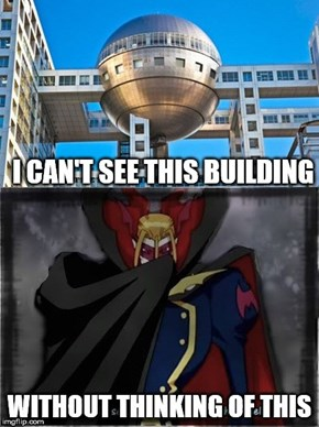 "Forever Will the Fuji Building in Tokyo Be Remembered As ""The Place Myotismon Took Over"""