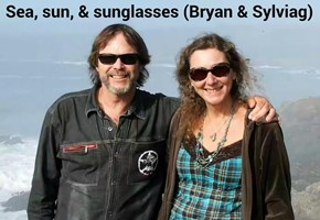 Sea, sun, and sunglasses (Bryan & Sylviag)