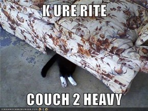 K URE RITE  COUCH 2 HEAVY