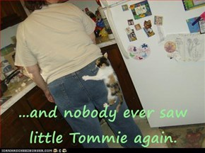 ...and nobody ever saw little Tommie again.