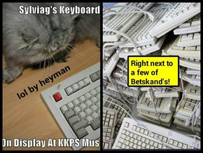 Sylvia's is but one of a large chunkle of keyboards