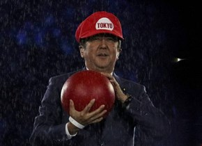 Japanese Prime Minister Shinzō Abe, Appears in Super Mario Hat During Rio Olympics Closing Ceremony