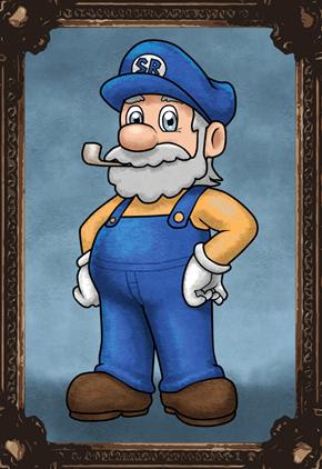 Mario's Dad Is The Man