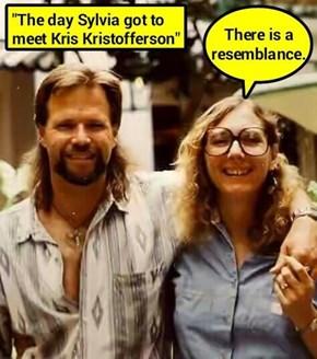 """""""The day Sylvia got to meet Kris Kristofferson"""""""