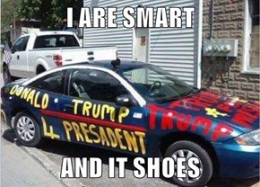 I ARE SMART  AND IT SHOES