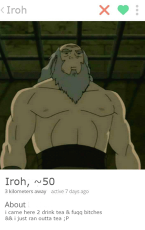 Iroh Will Help You Find Your Soulmate