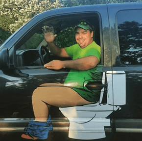 He's Not Just a Plumber, He's Also a Customer
