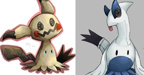 This Artist's Variations on Pokémon Sun and Moon's, Mimicyu Are Very Impressive