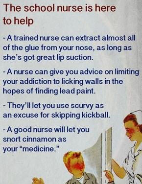 Your School Nurse Is Here To Help!