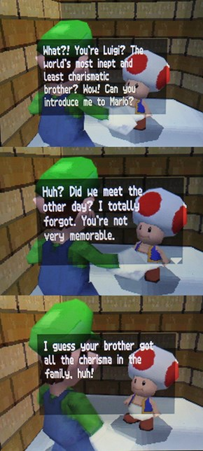 Toad Is a Savage