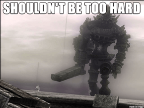 Shadow of the Colossus Boss Fights in a Damn Nutshell