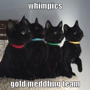 whimpics  gold meddling team