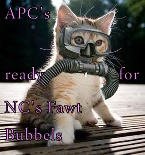 APC's ready               for NC's Fawt Bubbels