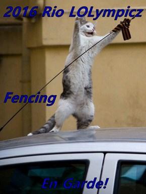 2016 Rio LOLympicz  Fencing En Garde!