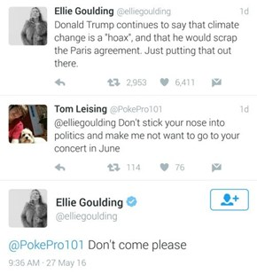Ellie Goulding Has No Chill