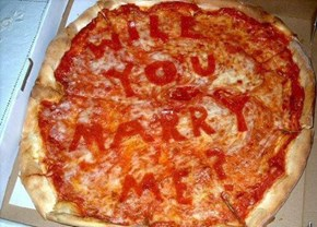 One Cheezy Pizza Proposal