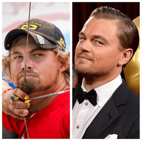 People Are Convinced Olympic Archer Brady Ellison Is Just Leonardo DiCaprio After Another Award