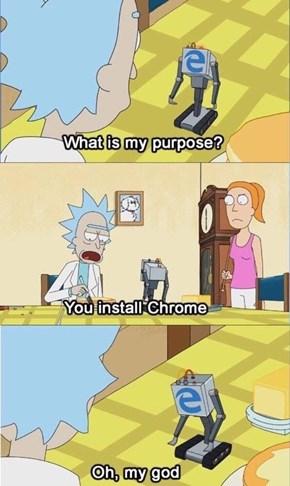 IE's True Purpose