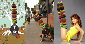 A Man Wore 100 Beanies and Became Perfect Photoshop Battle Material