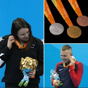 Cool Fact of the Day: Paralympics Medals Make Different Noises So Visually Impaired Athletes Can Identify Which One They Have