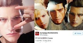 Final Fantasy XV Masks Make Everyone Really, Really, Ridiculously Good Looking