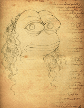 Rare DaVinci Pepe