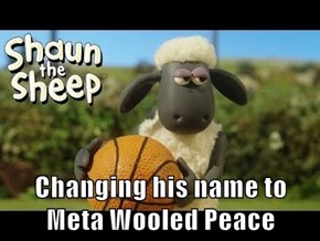 Changing his name to Meta Wooled Peace