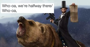 """The """"Whoa We're Halfway There"""" Meme Will Answer All Your Pun Related Prayers"""