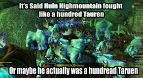 The Might of Huln Highmountain
