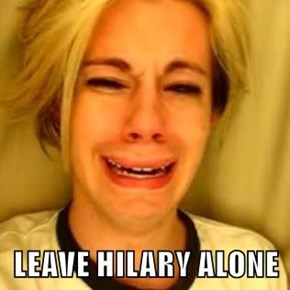 LEAVE HILARY ALONE