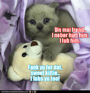 Kittie and frend..